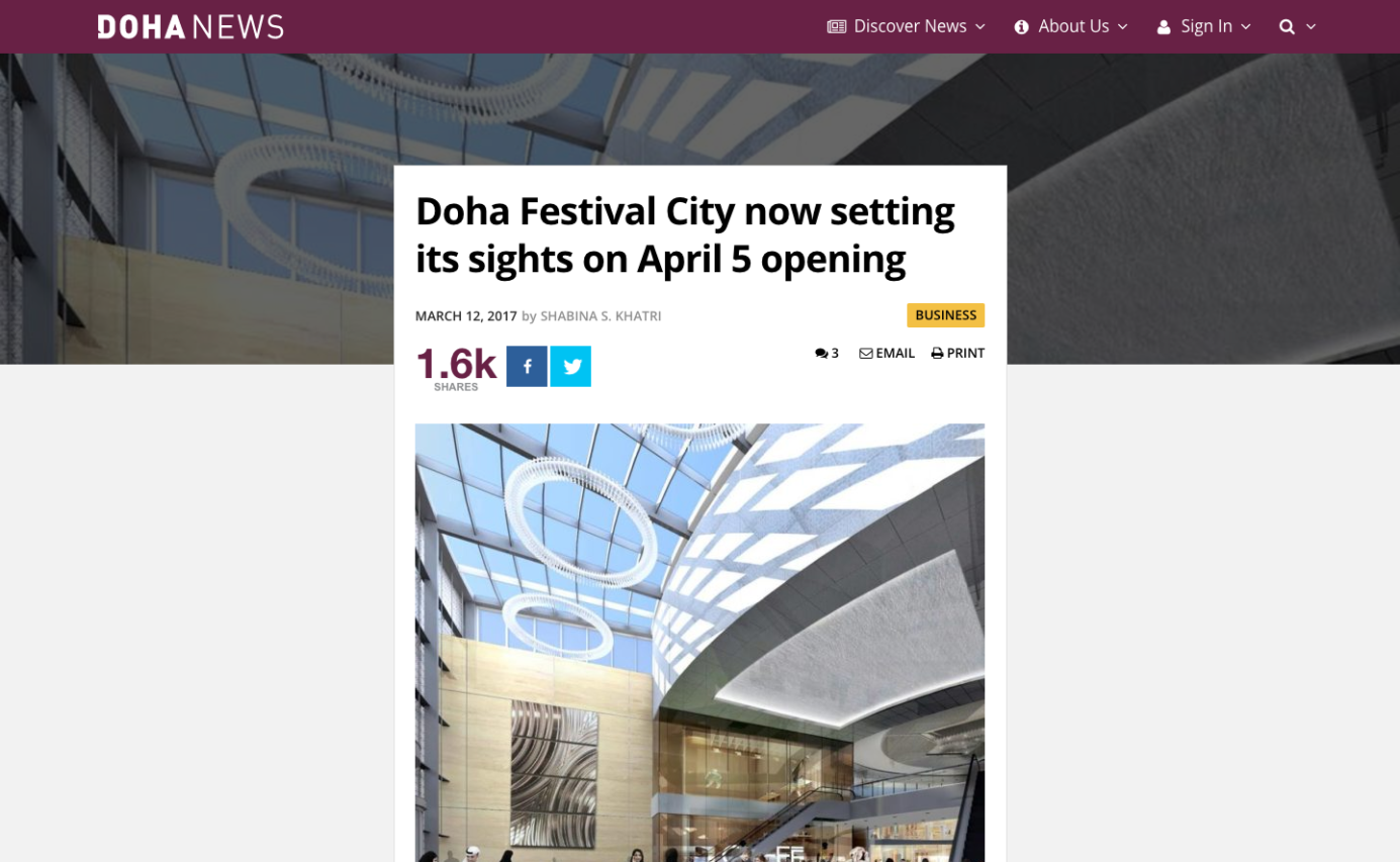 Doha News - News Article