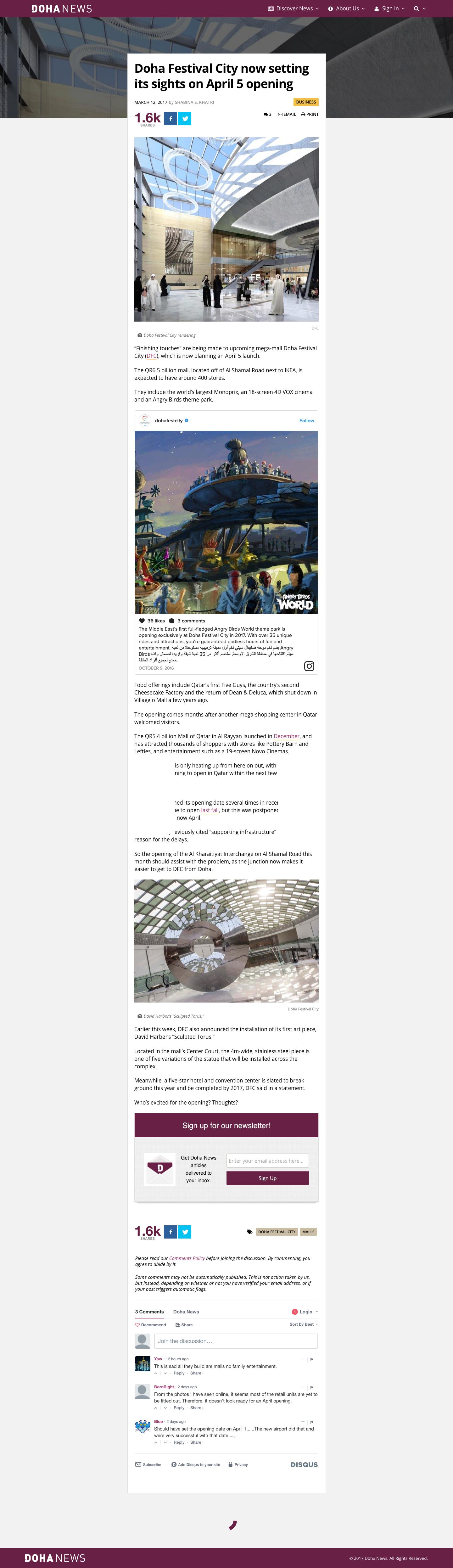 Doha News - News Article