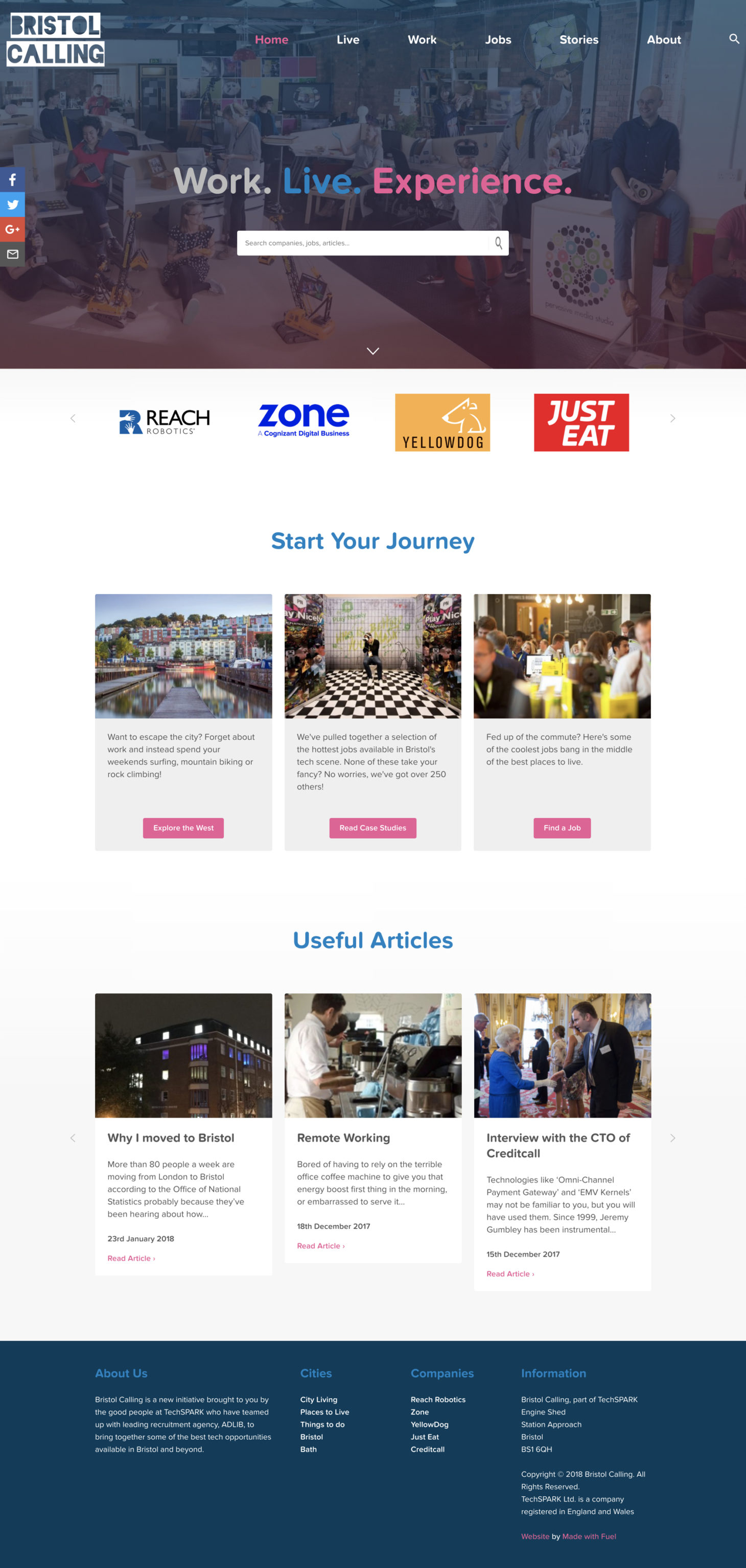 Bristol Calling - Homepage