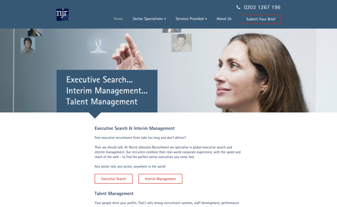 Norrie Johnston Recruitment - Homepage