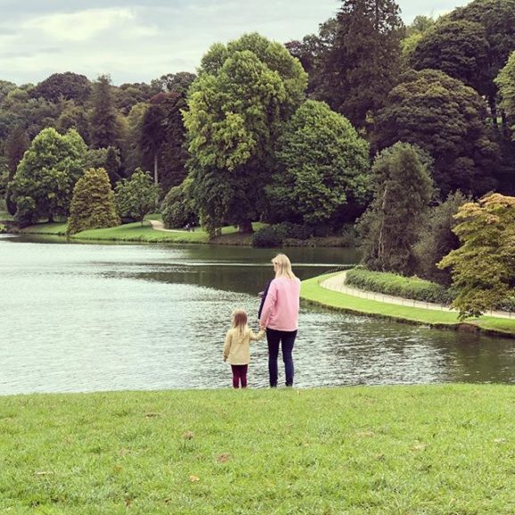 A lovely, early Sunday morning walk at Stourhead