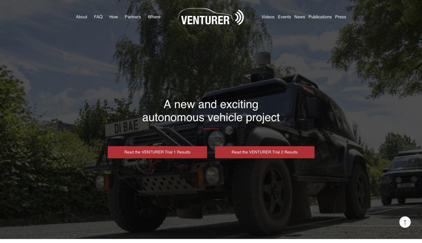 VENTURER - Homepage